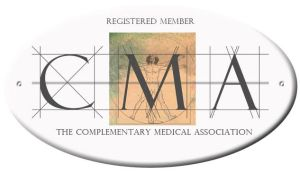 REGISTERED MEMBER OF THE COMPLEMENTARY MEDICAL ASSOCIATION